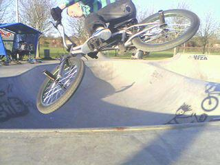 i love bmxing in my spare time
