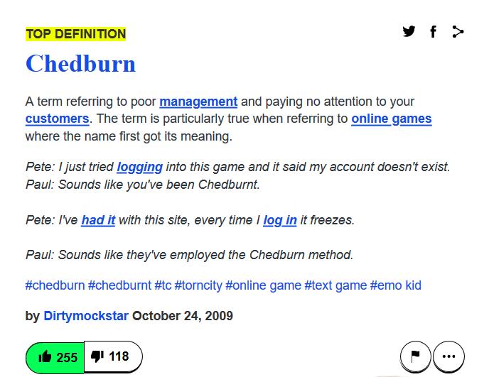 chedburnt