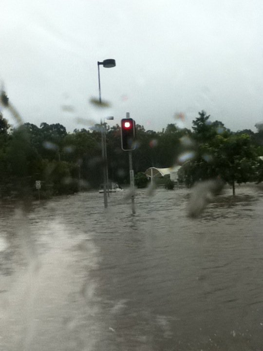 11/01/11 Shops flooded(5min drive from my house)